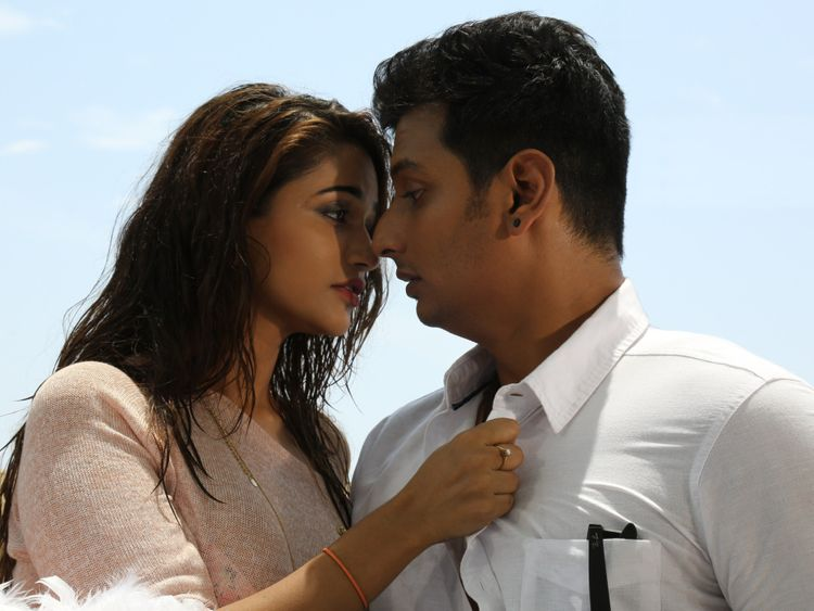 Anaika Soti with Jiiva in Kee-1557297134796