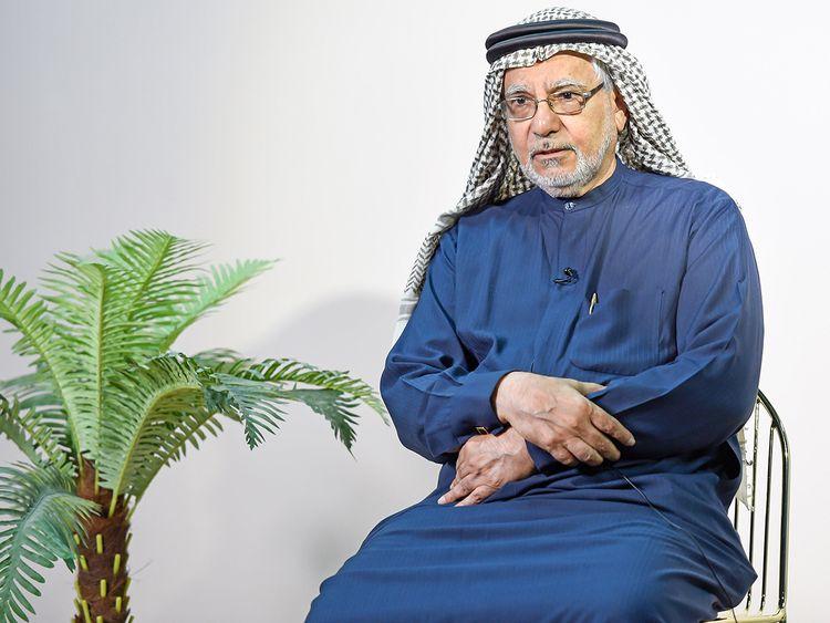 Emirati poet Dr Shihab Ganem