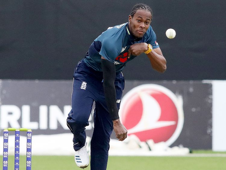 England's Jofra Archer