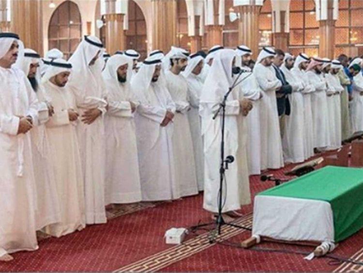 Funeral prayers Shaikha Mariam Bint Salem Al Suwaidi -02