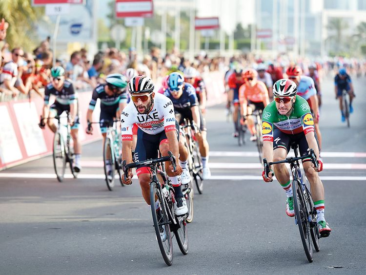 Gaviria tops UAE Team Emirates' line-up at Giro d'Italia