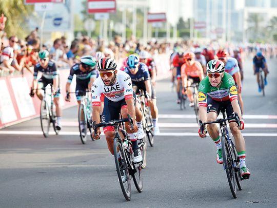 Gaviria tops UAE Team Emirates' line-up at Giro d'Italia