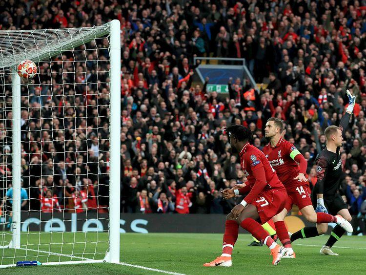 Liverpool's Divock Origi