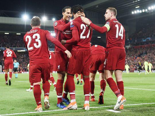 Liverpool's striker Divock Origi (