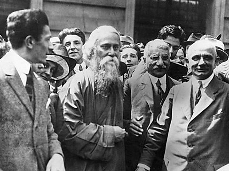 Rabindranath Tagore in London