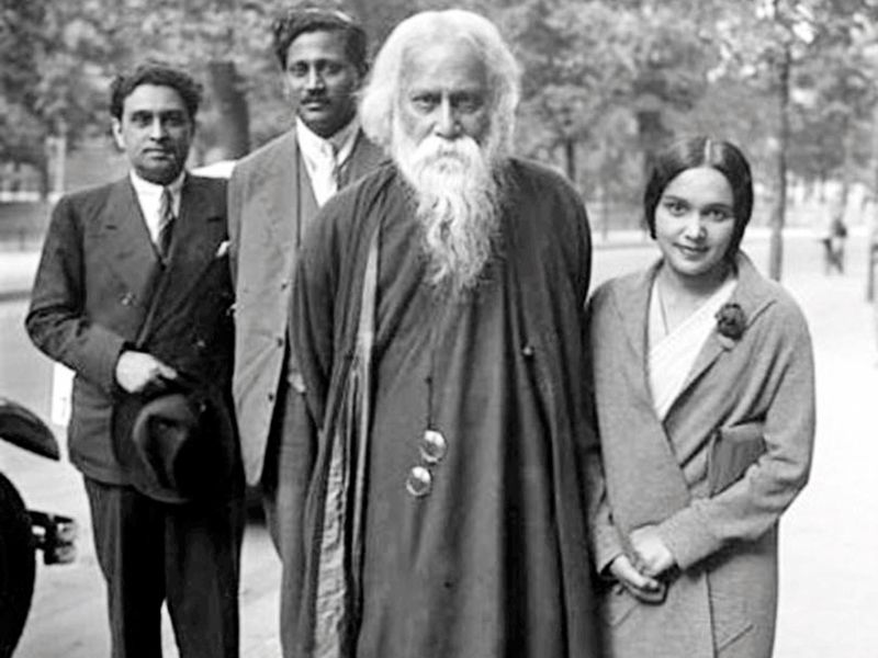 Rabindranath Tagore on his 70th birthday