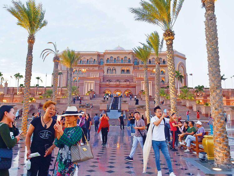190509 auh tourists