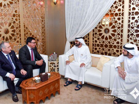 Shaikh Mohammad and Shaikh Hamdan