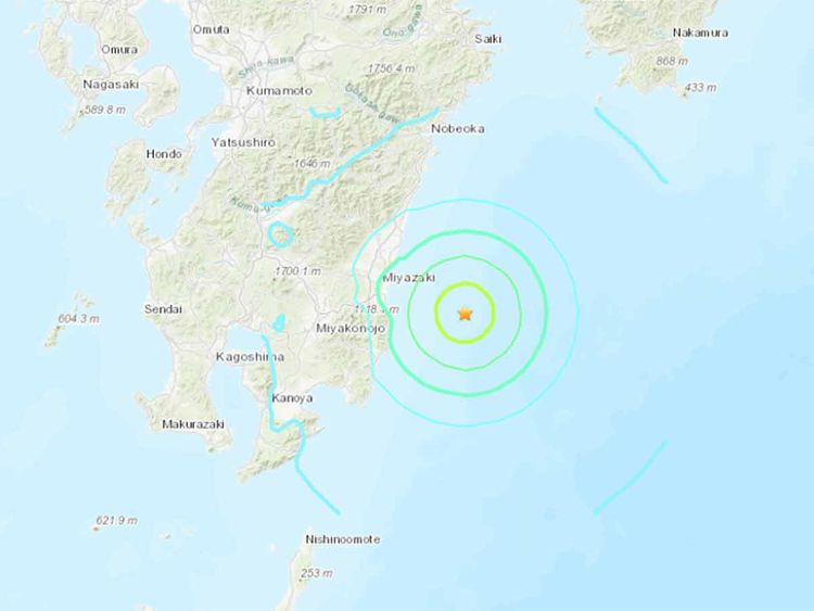 Japan earthquake 20190510