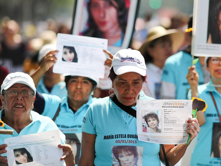 Mexicans march for their missing children | Americas – Gulf News