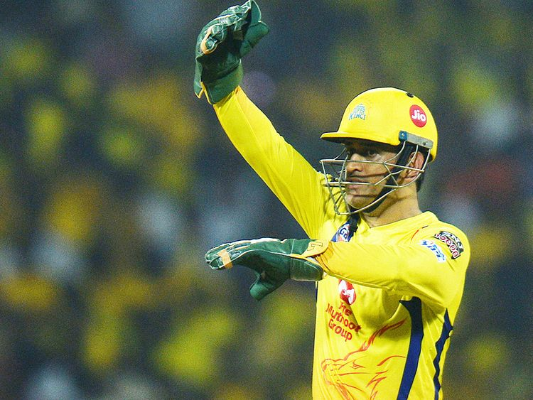 Chennai Super Kings cricket captain Mahendra Singh Dhoni