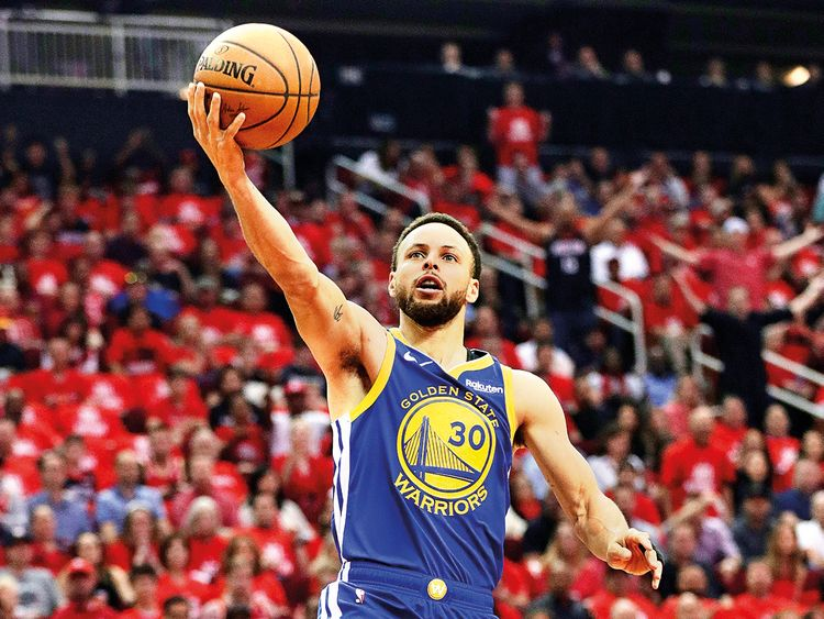 Golden State Warriors guard Stephen Curry