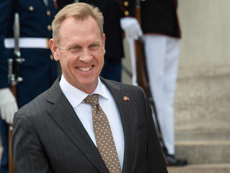 US Acting Secretary of Defense Patrick Shanahan