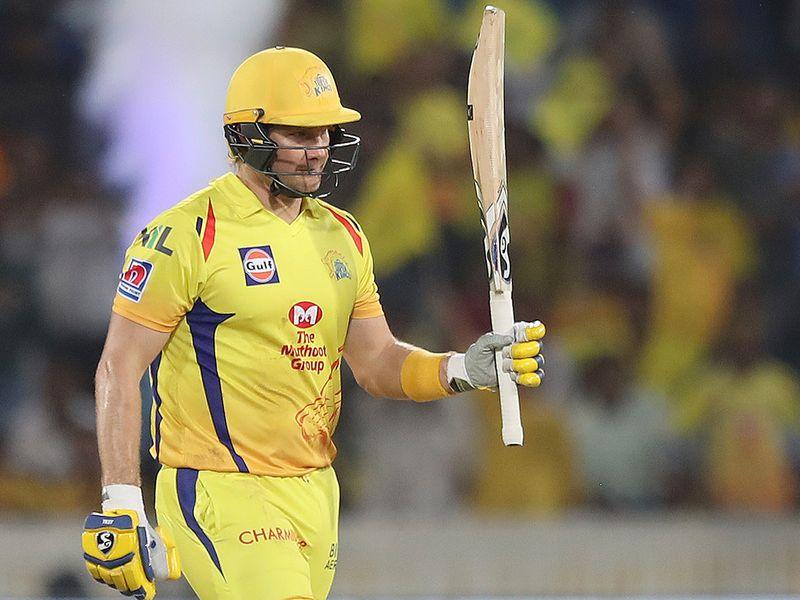 Chennai Super Kings' Shane Watson