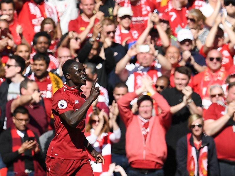 Liverpool's Senegalese striker Sadio Mane