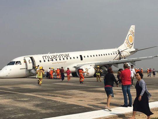 Myanmar Airlines flight UB-103