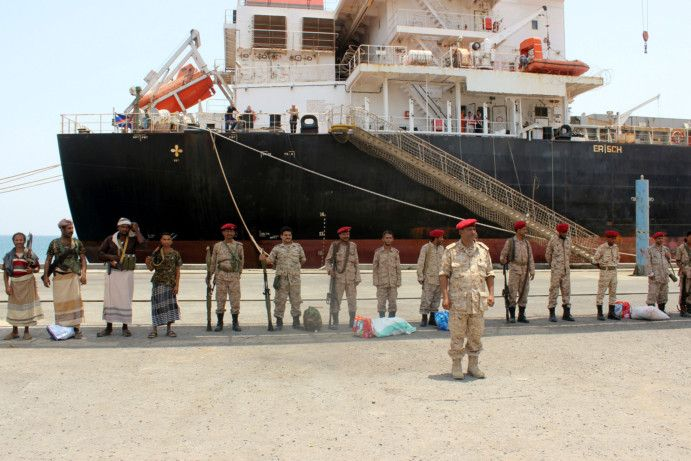 OPN Al Houthis in Hodeida-1557665661954