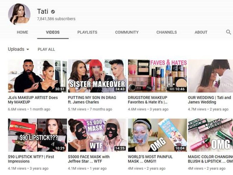 Tati Youtube screenshot