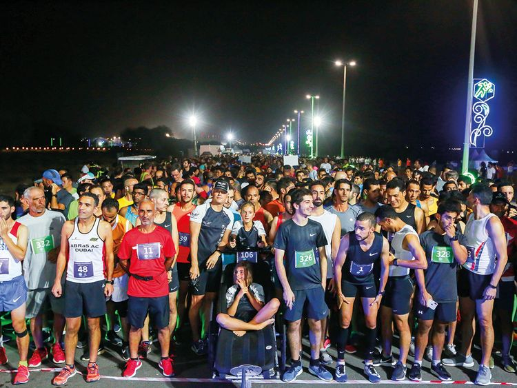 The 10km professional category