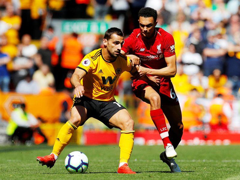Wolverhampton Wanderers' Jonny Castro