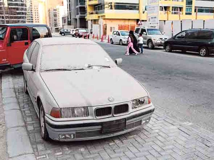 1 470 Abandoned Cars Impounded In Three Months