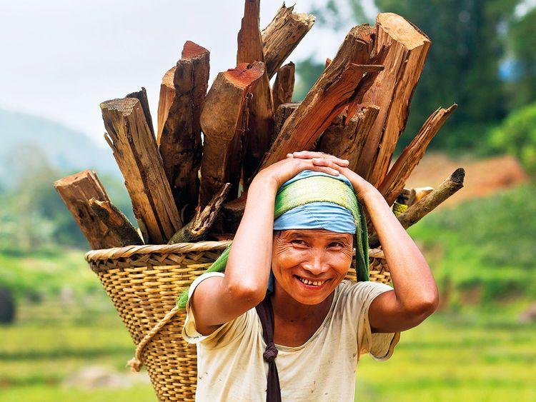 A Khasi tribal woman Lona Syngkli