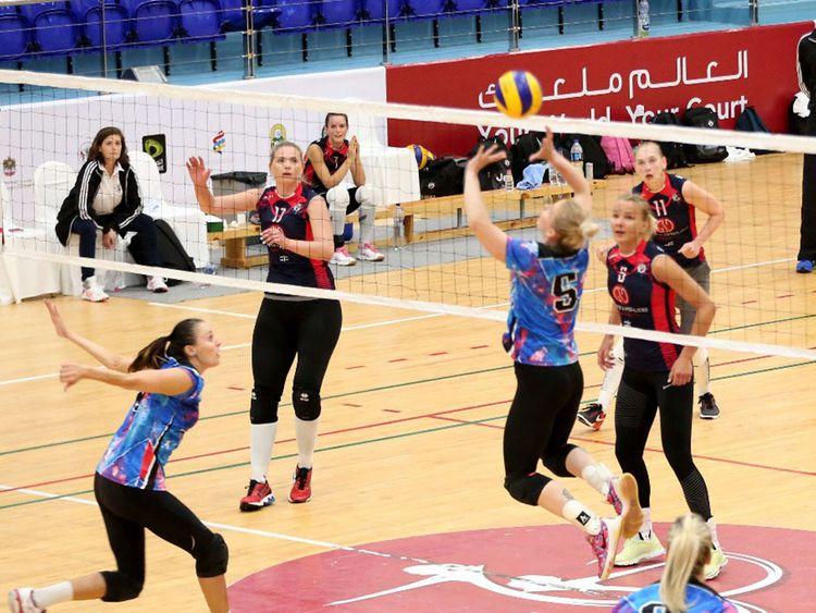 Elite Academy win Sharjah volleyball