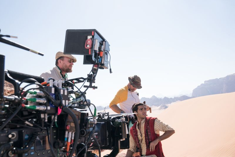 'Aladdin' shoot