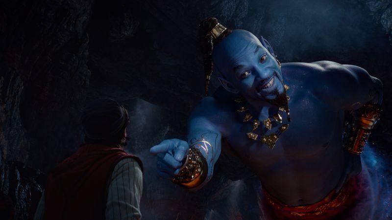 'Aladdin' still.