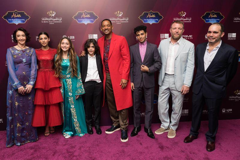 Aladdin premiere.