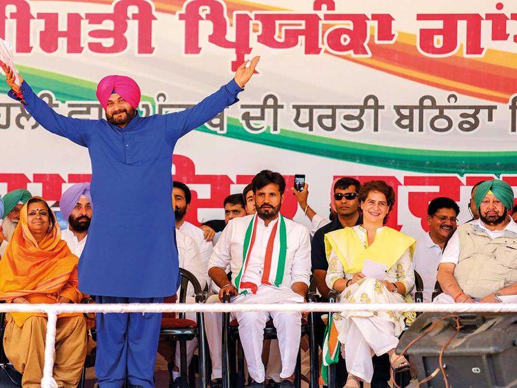 Punjab minister and Congress leader Navjot Singh Sidhu