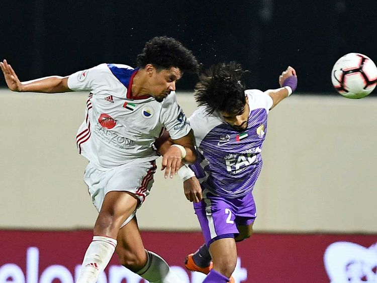 Sharjah face Al Wahda test in push for Arabian Gulf League title