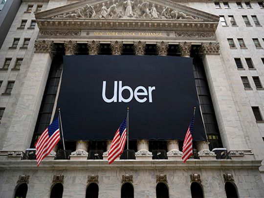 Uber on highway to profit after shares boost