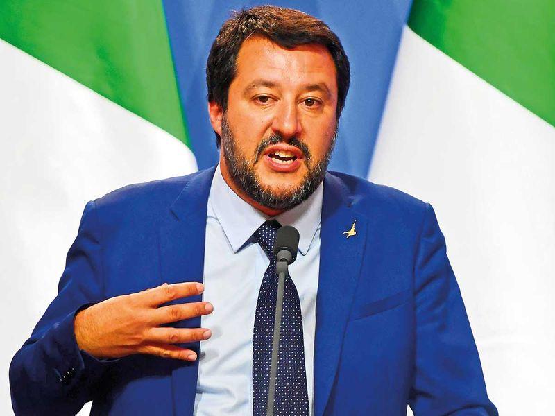 Italian Deputy Premier Matteo Salvini