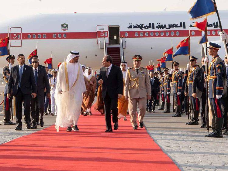 Shaikh Mohammad Bin Zayed Al Nahyan in Cairo 20190515