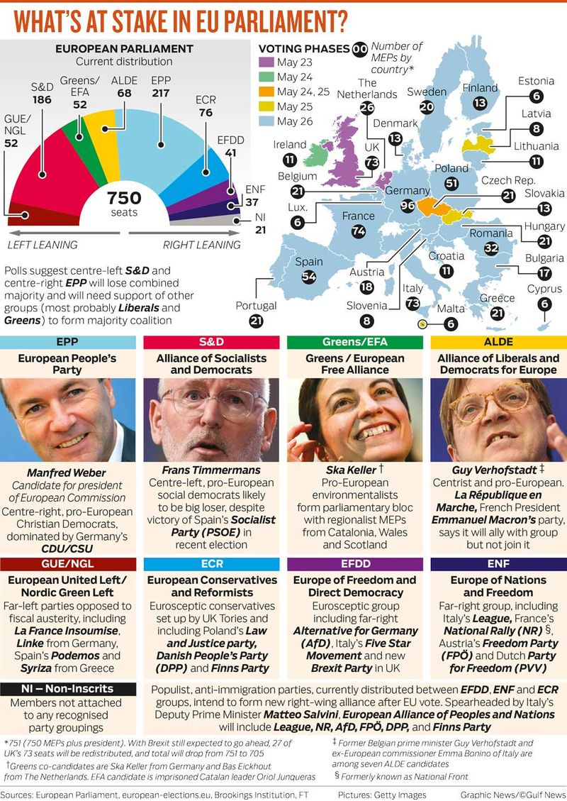 WHAT'S AT STAKE IN EU PARLIAMENT?