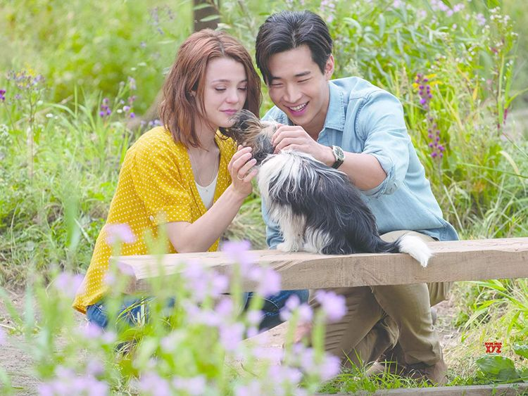 tab Kathryn Prescott and Henry Lau in A Dog's Journey-1557903280690