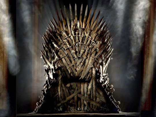 Game Of Thrones Iron Throne Set Up In Russia Ahead Of