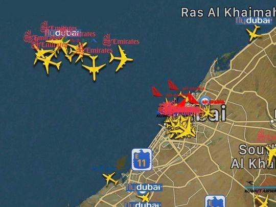 Dubai plane crash: Residents noticed low flying plane shortly before Mushrif crash
