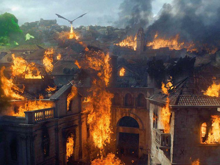 Daenerys reduced King's Landing