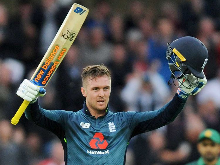 England's Jason Roy