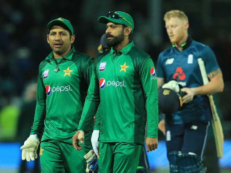 Pakistan's captain Sarfraz Ahmed