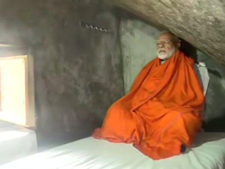 RDS_190518 Modi meditates-1558182954920