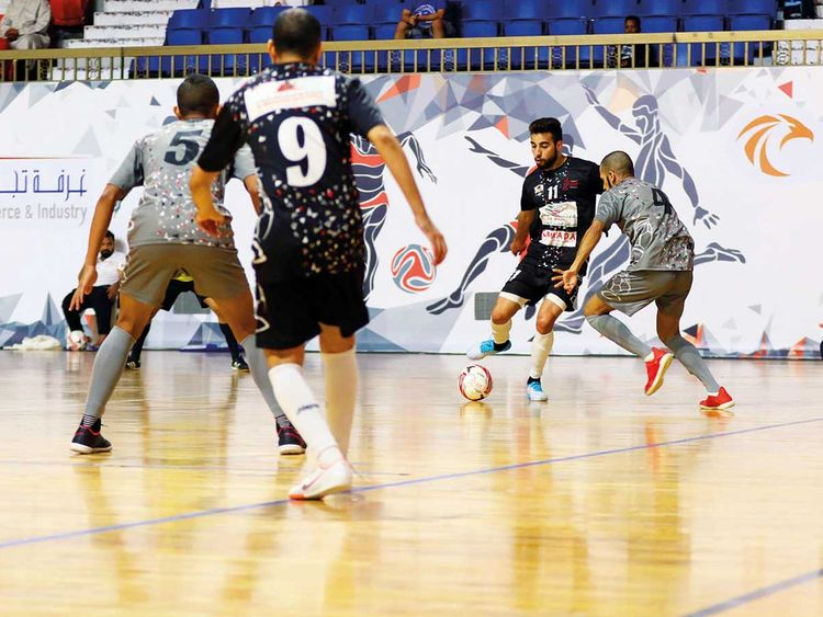 Sharjah Ramadan Futsal Championship semis decided