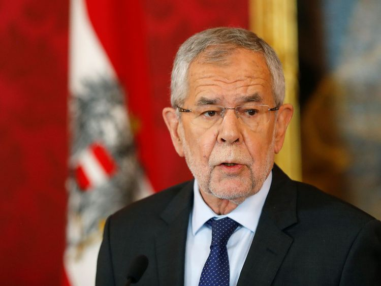 Austrian President Calls For September Snap Elections Europe