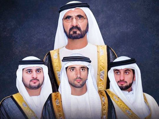 Mohammad Bin Rashid Instagram