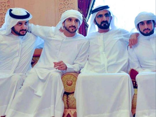 Shaikh Mohammad and sons