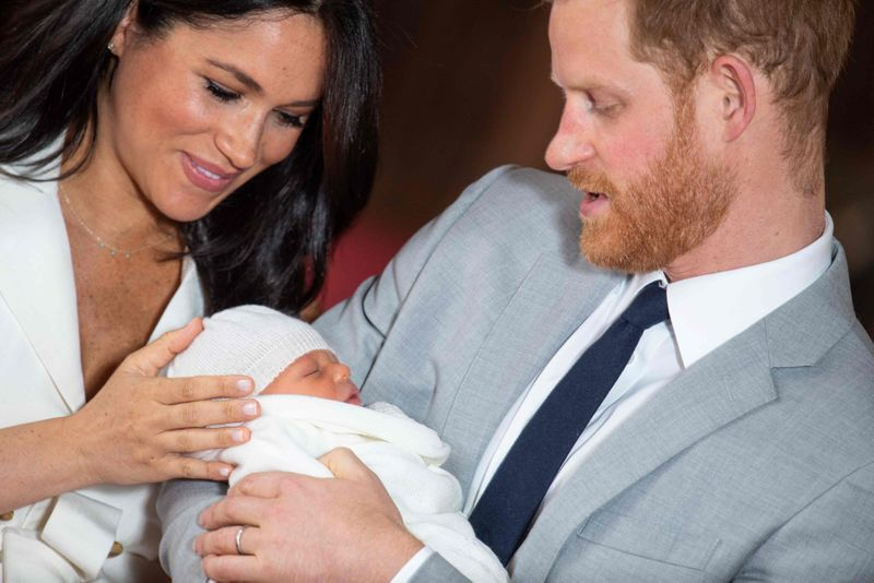 tab Prince Harry and Meghan with Archie-1558258317455