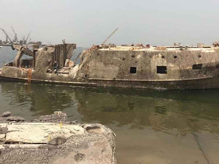 Abu Dhabi shipwreck