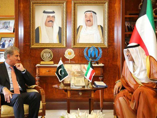 Qureshi in Kuwait